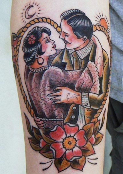 american tradional tatoo