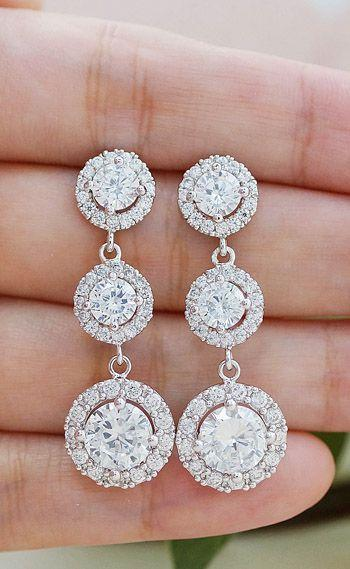 Wedding Jewelry Bridal Jewelry Bridesmaids Gift Bridal Earrings Brides