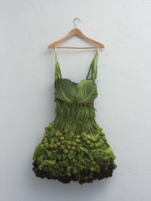 Gardening Humor Vegetable Dress by Sarah Illenberger