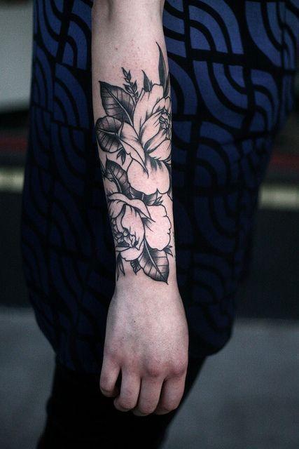 flowers tattoos