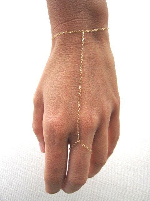 Slave bracelet - hand chain
